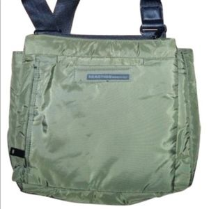 Kenneth Cole Reaction green insulated messenger …
